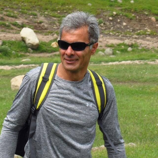 Siavash Shahbazzade Trekking on Mountains